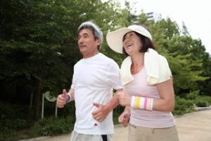 ジョギングで筋肉痛